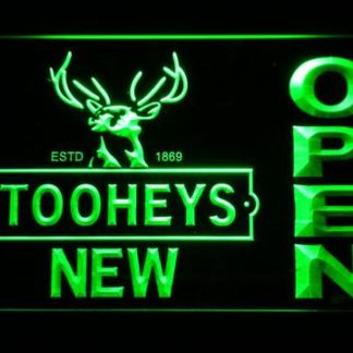 Toohey's Open neon sign LED