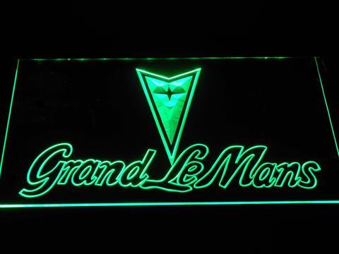 Pontiac Grand Le Mans Wordmark neon sign LED