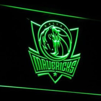 Dallas Mavericks neon sign LED