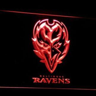 Baltimore Ravens Raven neon sign LED