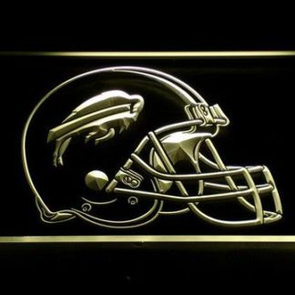 Buffalo Bills Helmet neon sign LED