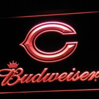 Chicago Bears Budweiser neon sign LED