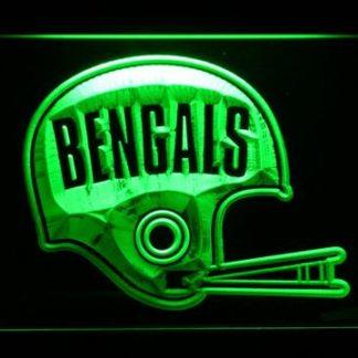 Cincinnati Bengals 1968-1979 Helmet - Legacy Edition neon sign LED