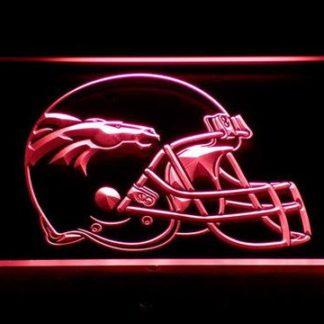 Denver Broncos Helmet 2 neon sign LED