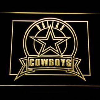 Dallas Cowboys Badge neon sign LED