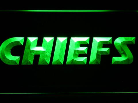 Kansas City Chiefs Text Neon Sign Led Sign Shop Whats Your