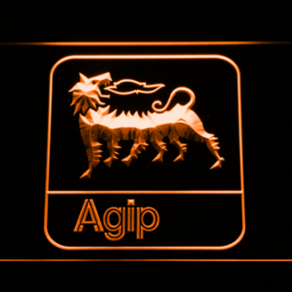 Agip neon sign LED