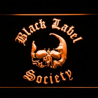 Black Label Society neon sign LED