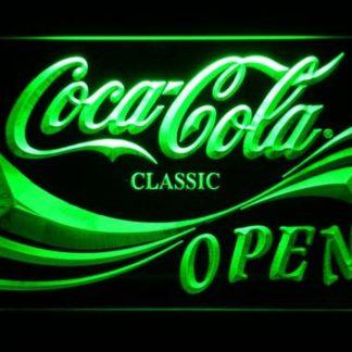 Coca-Cola Open neon sign LED