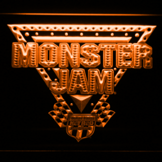 Monster Jam neon sign LED