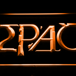 2Pac neon sign LED
