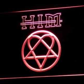 HIM neon sign LED