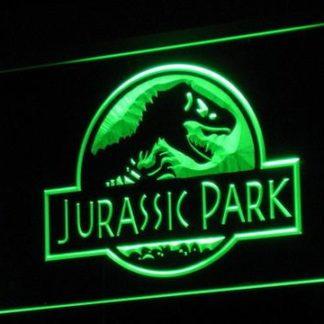 Jurassic Park neon sign LED