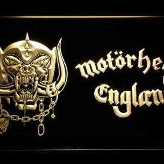Motorhead England neon sign LED
