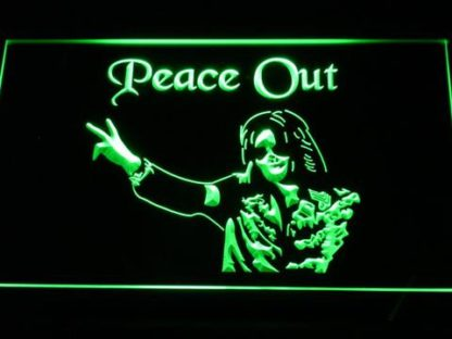 Michael Jackson Peace Out neon sign LED