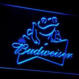Budweiser Frog neon sign LED
