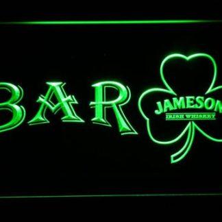 Jameson Shamrock Bar neon sign LED