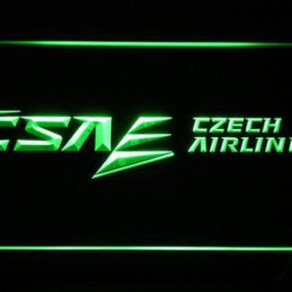 Czech Airlines neon sign LED