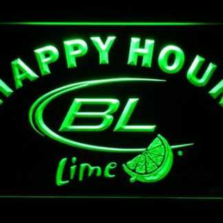 Bud Light Lime Happy Hour neon sign LED