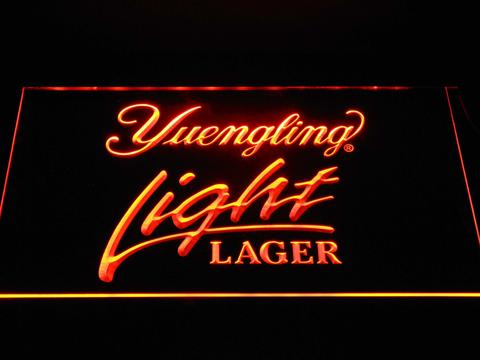 Yuengling Light Lager neon sign LED