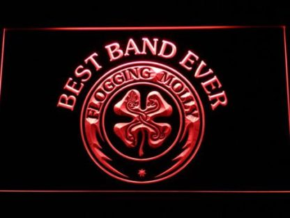 Flogging Molly Best Band Ever neon sign LED