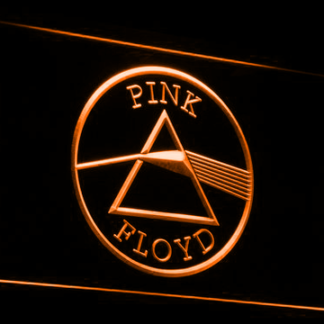 Pink Floyd Dark Side of the Moon Circle neon sign LED