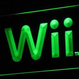 Nintendo Wii neon sign LED