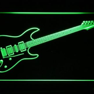 Ibanez Saber S470 neon sign LED