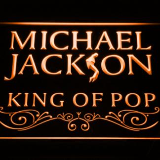 Michael Jackson King of Pop neon sign LED