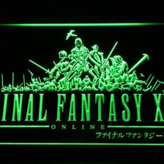 Final Fantasy XI neon sign LED