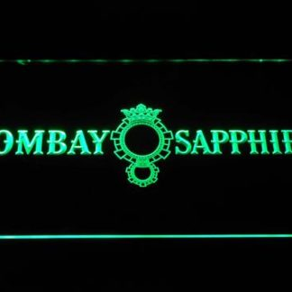 Bombay Sapphire neon sign LED