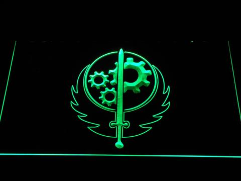 Fallout Brotherhood of Steel neon sign LED