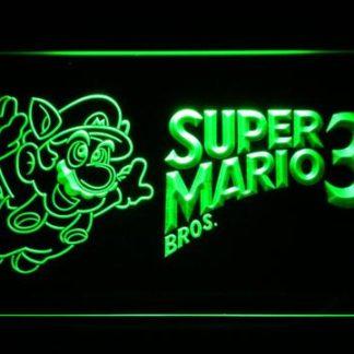 Super Mario Bros. 3 neon sign LED