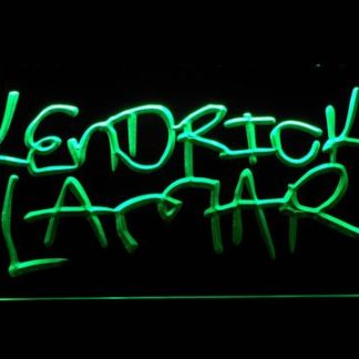 Kendrick Lamar neon sign LED
