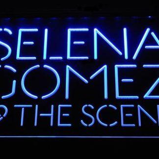 Selena Gomez & The Scene neon sign LED