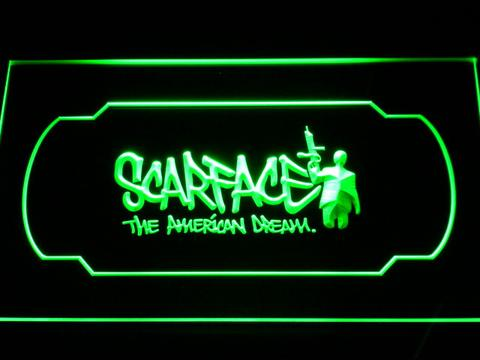Scarface The American Dream neon sign LED