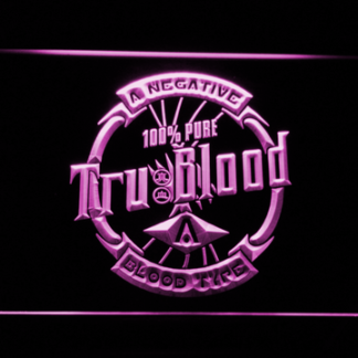 True Blood Tru Blood Soda neon sign LED