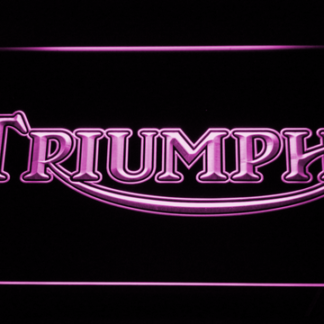 Triumph Old Logo neon sign LED