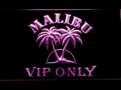 Malibu VIP Only neon sign LED