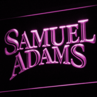 Samuel Adams neon sign LED
