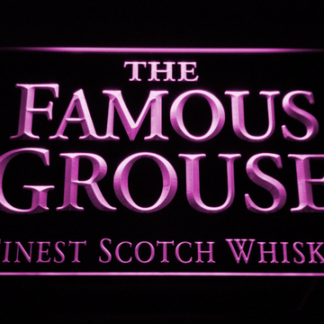 The Famous Grouse neon sign LED