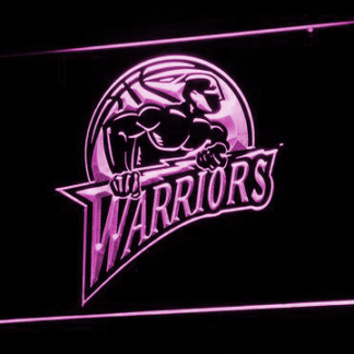 Golden State Warriors neon sign LED