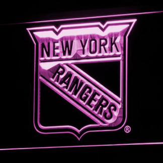 New York Rangers neon sign LED