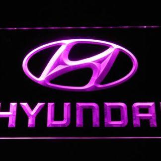 Hyundai neon sign LED