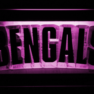 Cincinnati Bengals 1980 Logo - Legacy Edition neon sign LED
