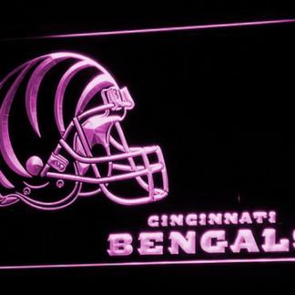 Cincinnati Bengals Helmet neon sign LED