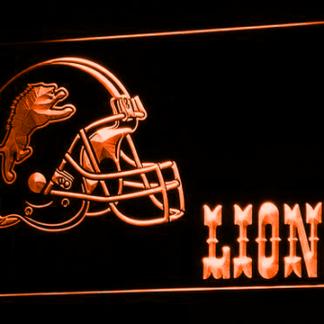 Detroit Lions Helmet neon sign LED
