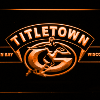 Green Bay Packers Titletown neon sign LED