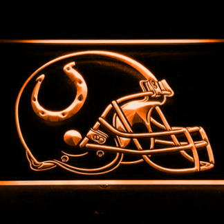 Indianapolis Colts Helmet neon sign LED