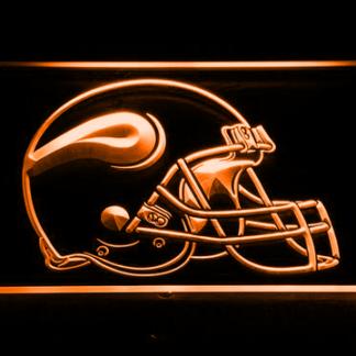 Minnesota Vikings Helmet neon sign LED